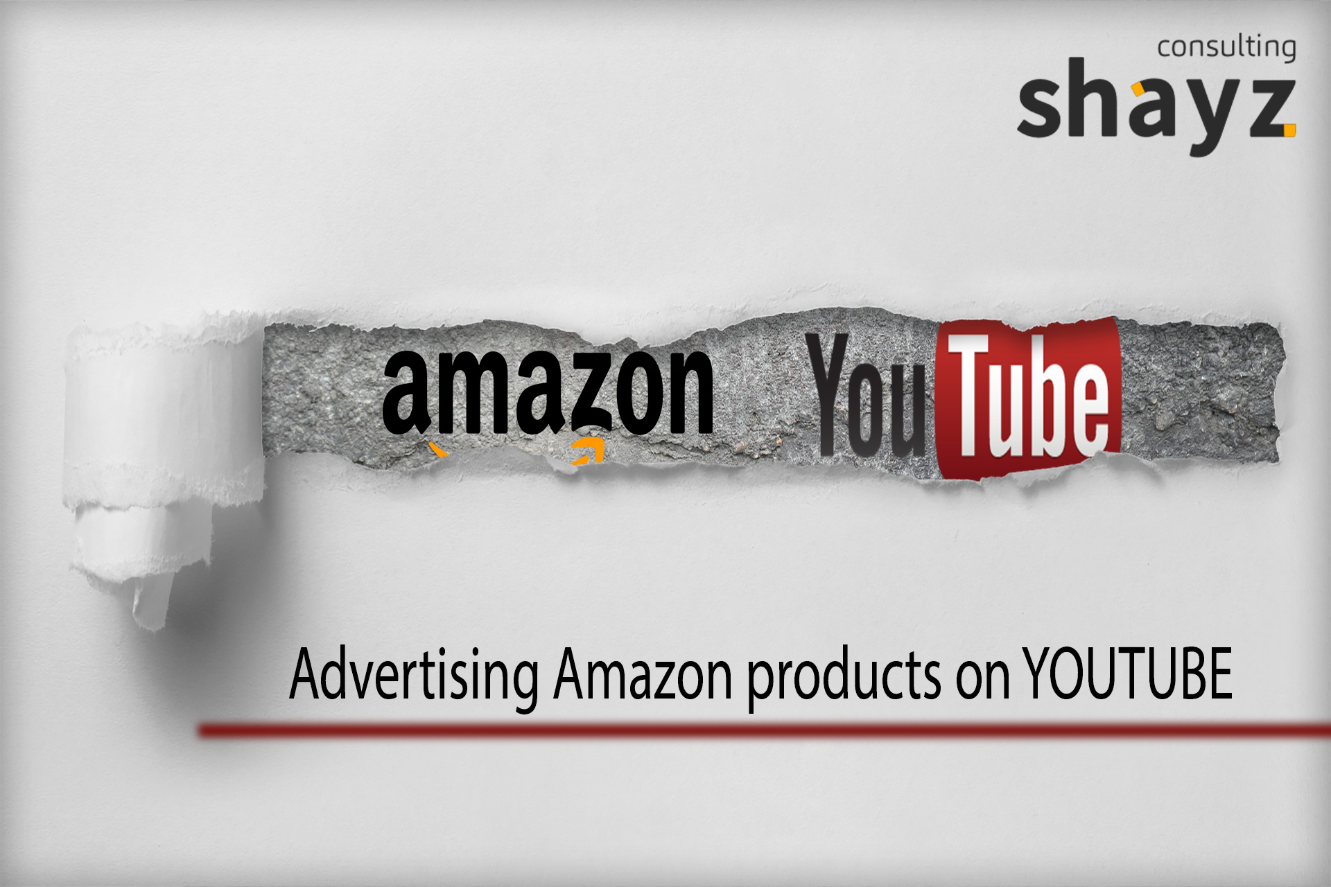 "Advertising ""Amazon"" products on ""YOUTUBE"""